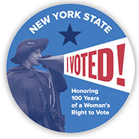 NYS marks centennial of women's suffrage