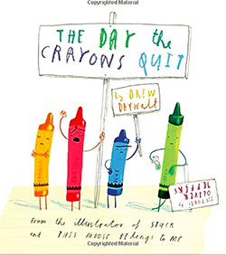 Check it Out: 'The Day the Crayons Quit bookcover'