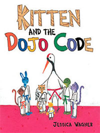 Check it out: Kitten and the Dojo Code bookcover
