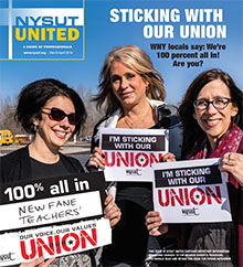 nysut united march/april 2018 cover