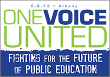 one voice united poster