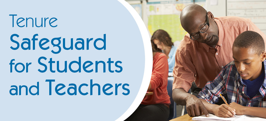 tenure safeguard for students and teachers