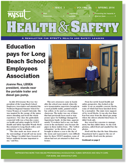 Health and Safety Newsletter - Spring 2014
