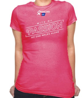 order making strides t shirts