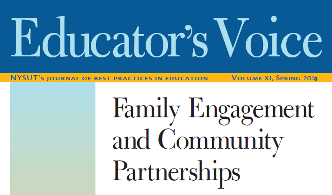 Educator's Voice XI