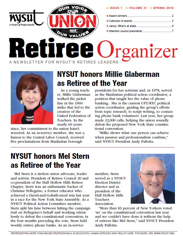 Retiree Organizer