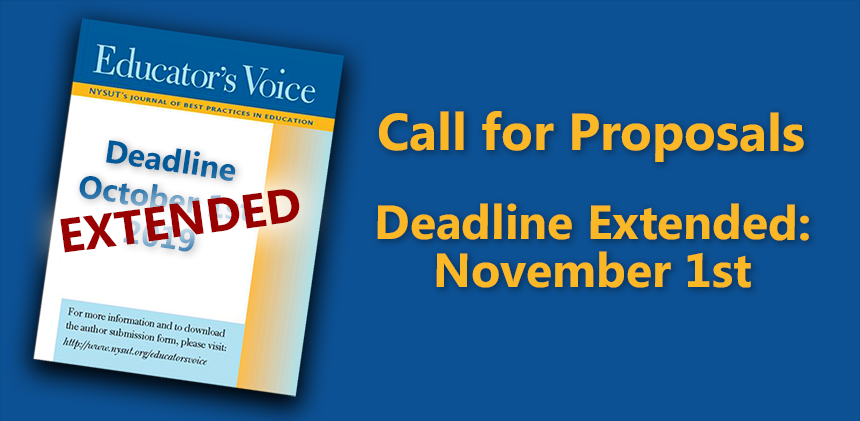 Ed Voice 13 Call for Proposals