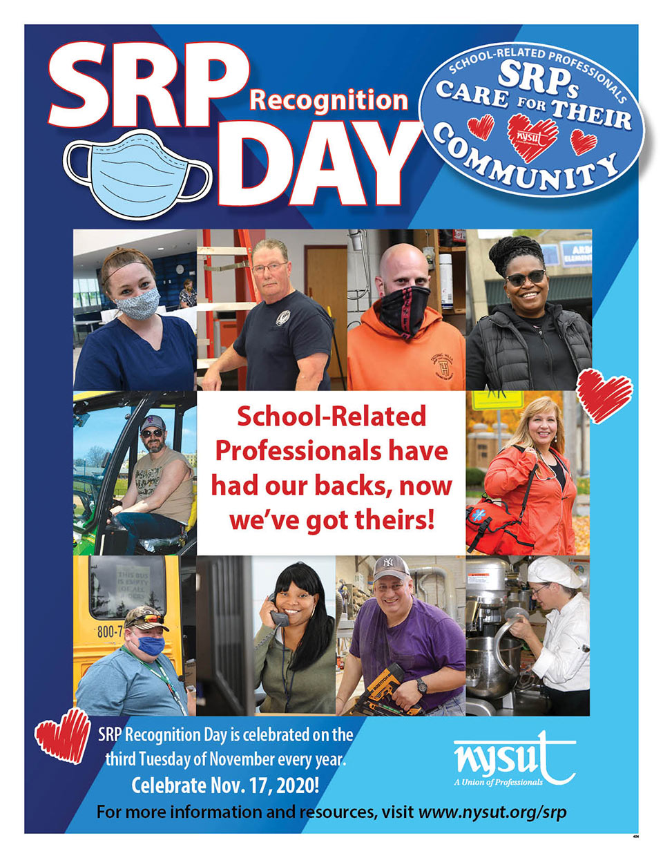 srp day poster 2020