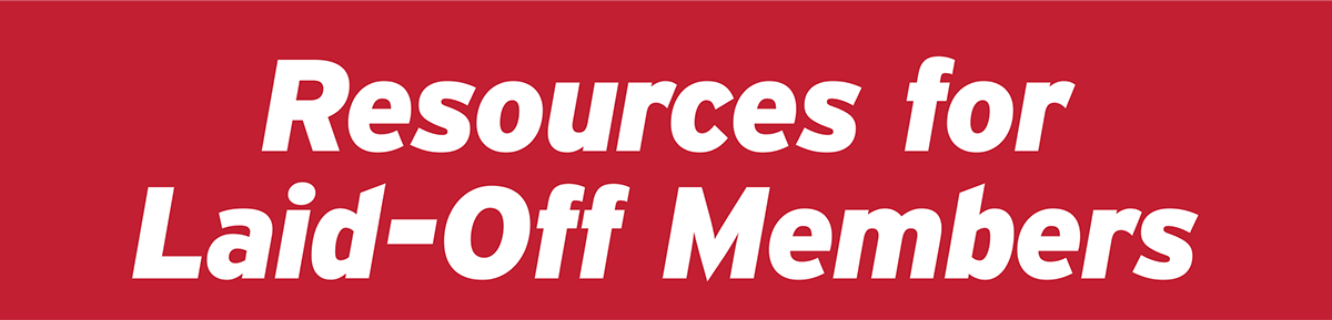resources for laid-off members