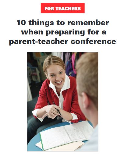 Ten Things Parent Teacher Conferences