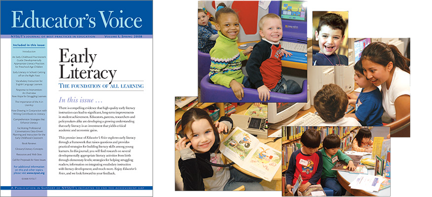 educator's voice 1 early literacy