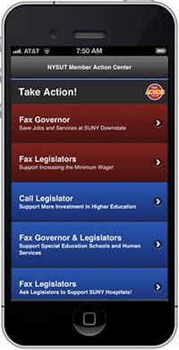 Legislative Action Alert From Mac >> Nysut Mac App