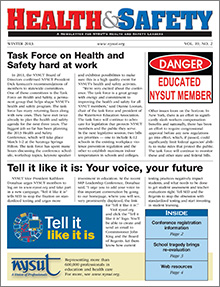Health And Safety Newsletter Winter 2013 Nysut Org