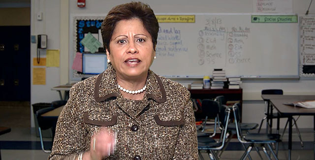 nysut vice president maria neira common core intro video